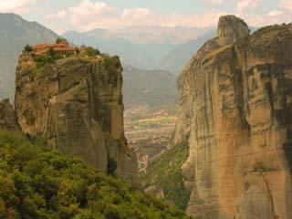 Greece:      Meteora