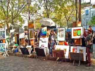 パリ:  フランス:      Montmartre