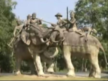Бангкок:  Таиланд:      Древний город