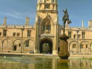 Оксфорд:  Англия:  Великобритания:      Колледжи Оксфорда