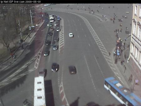 Угол Дворцовой площади и Невского проспекта