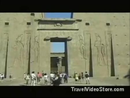Нубия:  Египет:      Храм Хора в Эдфу