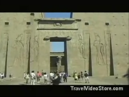 Nubia:  エジプト:      Idfu Temple of Horus