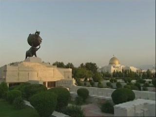 Ашхабад:  Туркменистан:      Памятник жертвам землетрясения