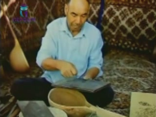 Туркменистан:      Изготовление дутара