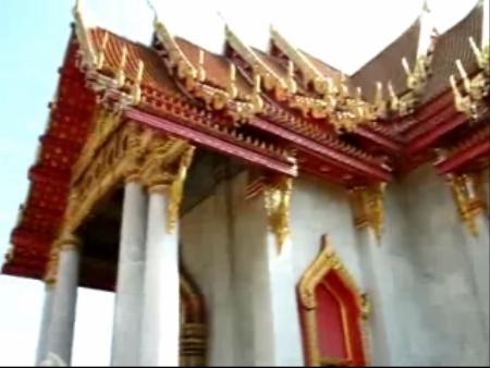Бангкок:  Таиланд:      Мраморный храм