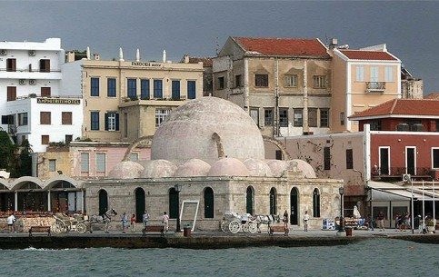 Chania is a port on the north coast of Crete. Ancient Venetian harbour, Firkas fortress; Archaeological and Naval museums; restaurants, markets, comfortable hotels