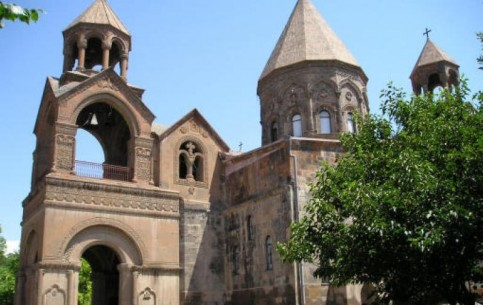 Echmiadzin Cathedral, one of the most ancient monuments of Christianity, was built in IV century, after Christianity has became the state religion of Armenia