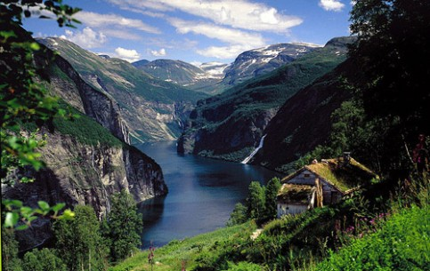 Being one of Europe's last natural frontiers it evokes a sense of timelessness. In this enduring landscape, nature is at her most dramatic spectacle of the fjords is a natural wonder.