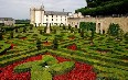 Gardens of Villandry castle Images