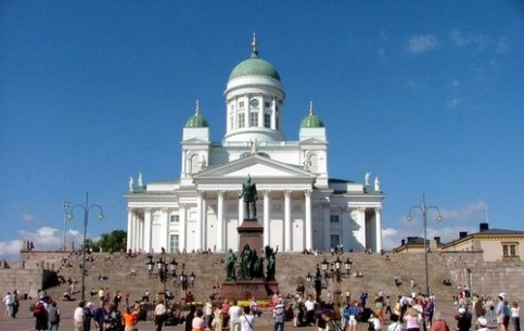 Helsinki is the cultural and tourist center of Finland with a great deal of museums and architectural monuments