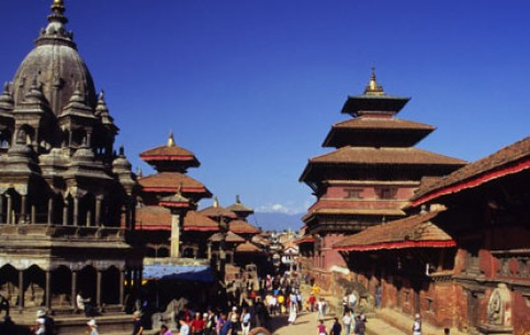 Kathmandu - the capital and largest city of Nepal has never been in war. It accumulated treasures without spending and now they create a fabulous image of an eastern city