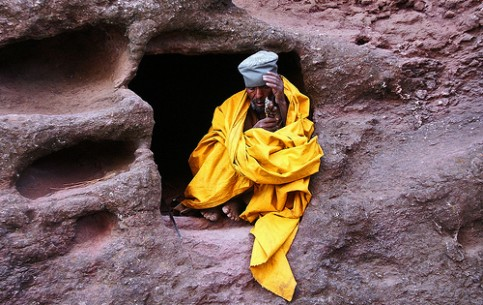 Sacred place of Ethiopia – the city of Lalibela attracts tourists with magnificent churches of XII-XIII centuries cut out of rocks