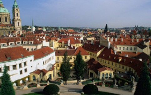 The appearance of the Mala Strana quarter of Prague remained unchanged since its construction in the XVII century