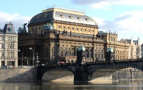 National Theatre was built in Prague in the 70-ies of XIX century in neo-renaissance style. They gathered money for the construction from all over the country, from different social groups. It is still a personification of national pride
