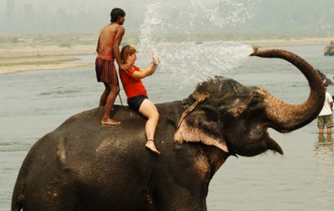 Tourists will find a wide range of entertainment in Nepal - from exotic, like elephant's football or buffalo races to traditional, like golf