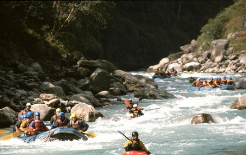 Rafting in Nepal is a popular tourist destination for an average recreational kayaker or river runner. Most of the rivers have 2 - 4 class. No need to bring any equipment