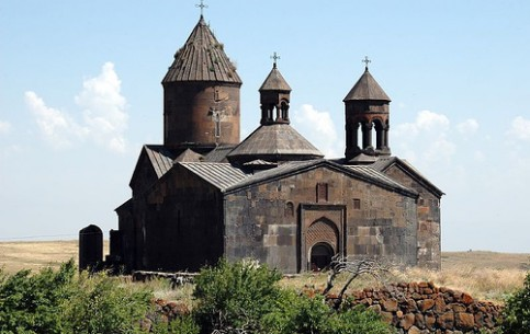 The significant religious and cultural center of medieval Armenia - Noravank monastery complex is the unique monument of architecture of XIII-XIV centuries