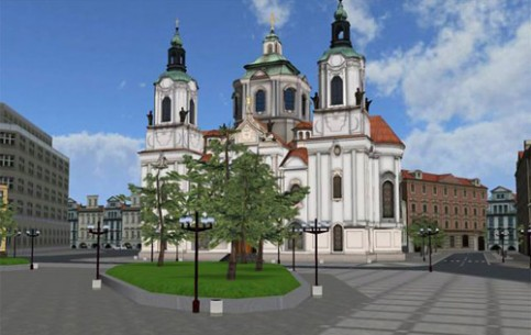 Various architectural styles including the gothic Týn Cathedral and baroque St. Nicholas Church meet each other at the Old Town Square. The statue of religious reformer Jan Hus, burned at the stake for his beliefs, is in the centre