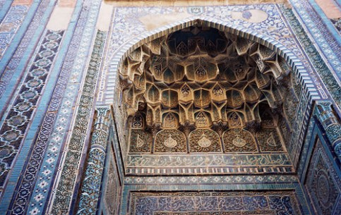 The Shah-i-Zinda Ensemble includes mausoleums and other ritual buildings of 9-14th and 19th centuries. The legend says that Kusam ibn Abbas, the cousin of the prophet Muhammad was buried there