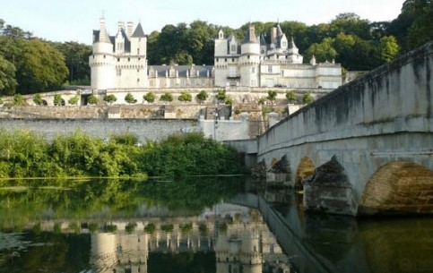 Usse castle is a proper fairy tale castle! They say, Charles Perrault had it in mind when writing