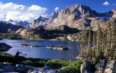 High mountain state of Wyoming always attracts mountaineers and ecotourism enthusiasts