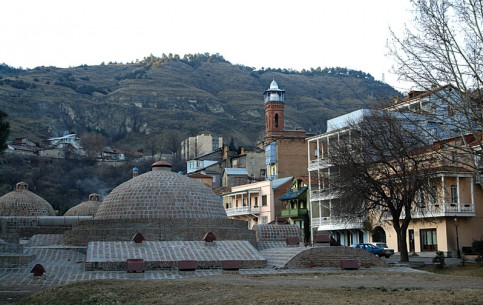 Tbilisi:  Georgia:      Abanotubani