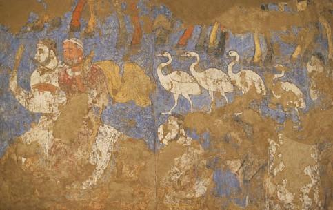 撒马尔罕:  乌兹别克斯坦:      Afrasiyab Museum