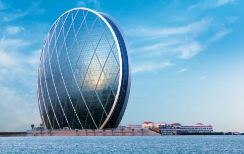 Abu Dhabi:  アラブ首長国連邦:      AlDar HQ