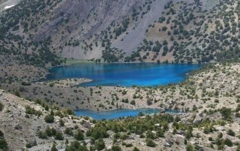 塔吉克斯坦:      Alauddin Lakes