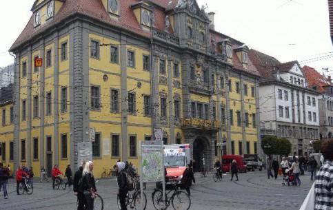 Erfurt:  Thuringia:  Germany:      Anger Erfurt