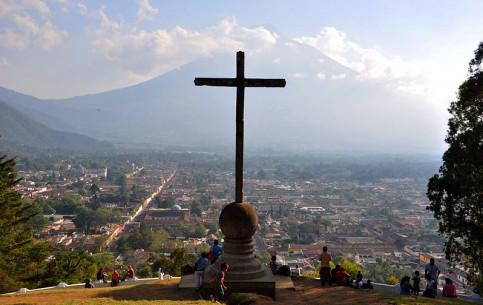 グアテマラ:      アンティグア・グアテマラ