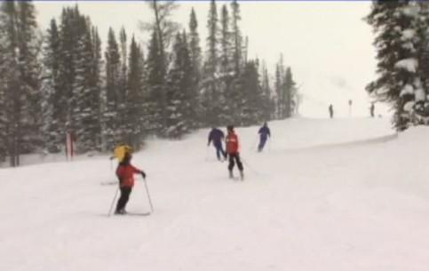Банф:  Альберта:  Канада:      Банф зимой