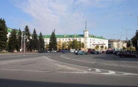 Барановичи:  Брест:  Беларусь:      Барановичи площадь Ленина