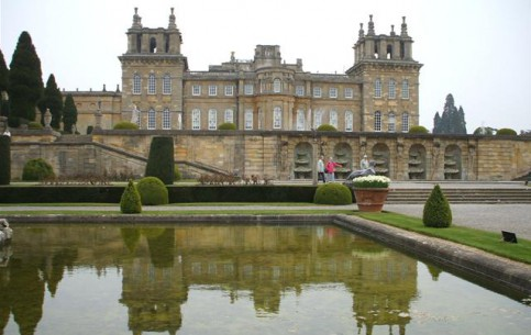Oxford:  England:  Great Britain:      Blenheim Palace