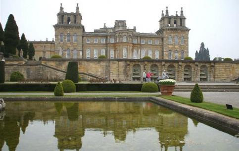 Оксфорд:  Англия:  Великобритания:      Бленхеймский дворец