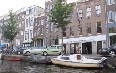 Boat ride on the canals of Amsterdam 写真