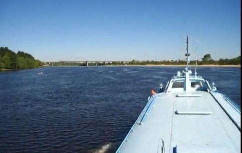 Мозырь:  Гомель:  Беларусь:      Прогулка на теплоходе в Мозыре