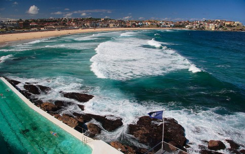 悉尼:  澳大利亚:      Bondi Beach