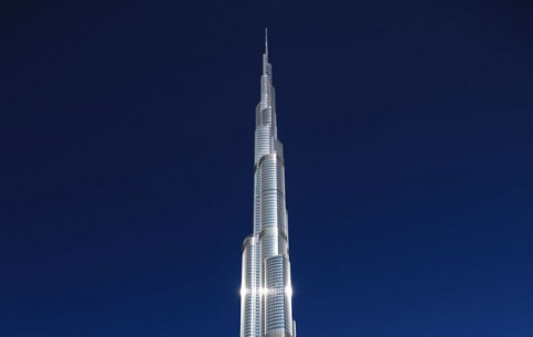 Dubai:  United Arab Emirates:      Burj Khalifa in Dubai