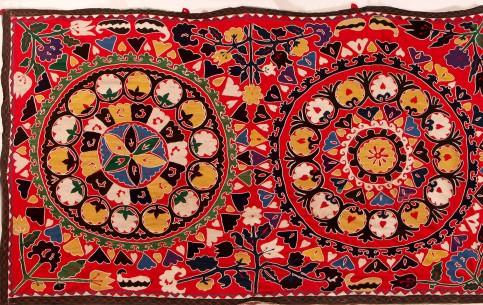 ウズベキスタン:      Carpets, Uzbekistan