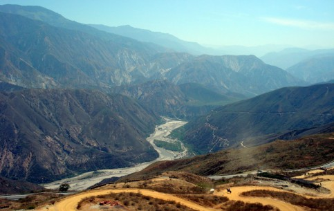 图片 Chicamocha Canyon 风景