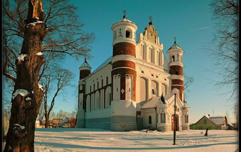 Grodno:  Belarus:      Church of Nativity Murovanka