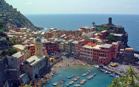 Liguria:  イタリア:      チンクエ・テッレ