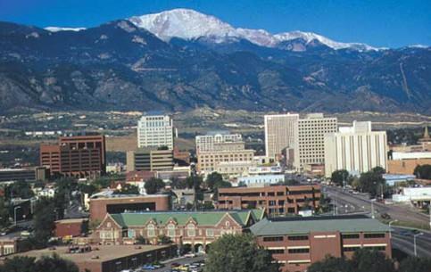 Colorado:  United States:      Colorado Springs