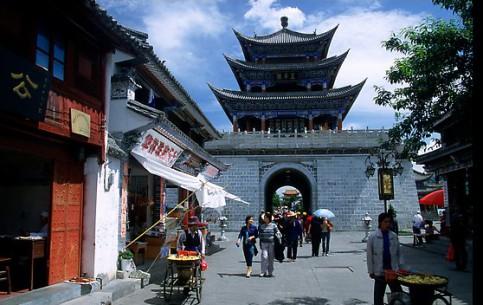 雲南省:  中国:      Dali City