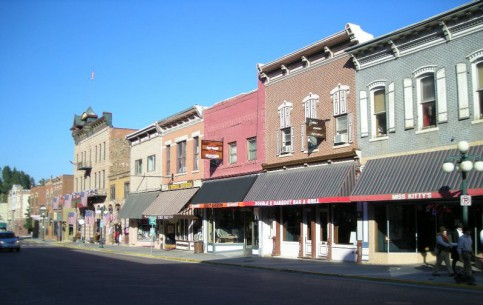 South Dakota:  アメリカ合衆国:      Deadwood