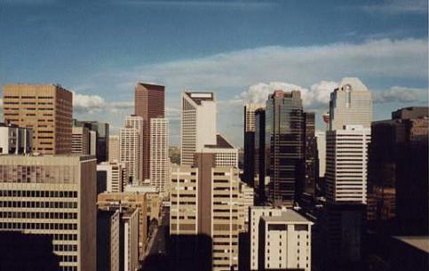 カルガリー:  Alberta:  カナダ:      Downtown Calgary