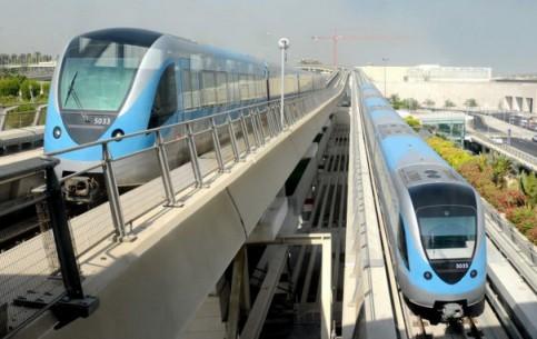 Dubai:  United Arab Emirates:      Dubai metro
