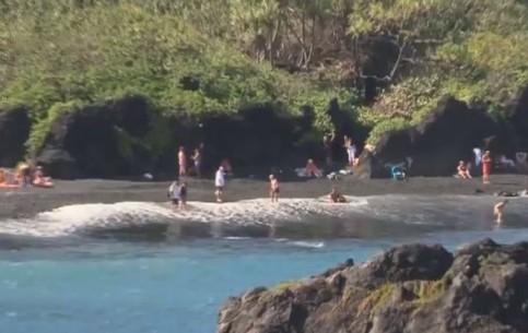 マウイ島:  ハワイ州:  アメリカ合衆国:      Five unique beaches in Maui